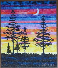 Cathy Geier's Quilty Art Blog: Last Light project and Paducah Quilt Show I