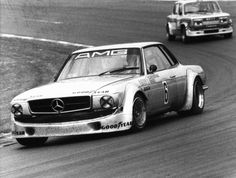 """The 450 SLC AMG Mampe ran in only five races – nevertheless, it enjoys the status of a legend. Among racing fans, the race car known as """"Mampe SLC"""" quickly found followers; after all, it stood for the return of the Silver Arrows to racing at the time."""