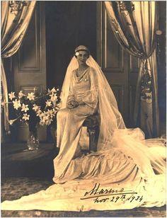 HRH Princess Marina, Duchess of Kent nee Princess Marina of Greece and Denmark