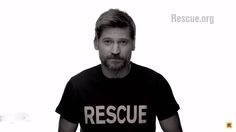 'Game of Thrones' stars appeal for support of refugees Jaime Lannister, Cersei Lannister, Nikolaj Coster Waldau, Hbo Game Of Thrones, Sansa Stark, Trending Now, Arya, Stars, April 24