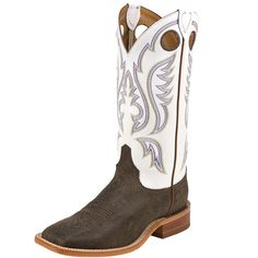 Men's Bent Rail Chocolate Bisonte Classic 13 In Top Cowboy Boots Item # BR305