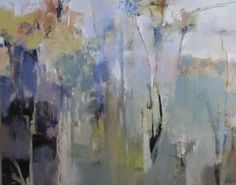 """Contemporary Artists of Colorado: Contemporary Abstract Painting """"Unplanted Garden"""", by Intuitive Artist Joan Fullerton"""