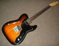 Fender '69 Thinline Telecaster with rosewood fretboard