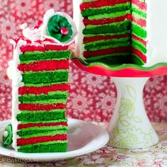 """Check out """"Whimsical Eggnog Christmas Cake""""."""" to pretty much anything with eggnog in it! Christmas Friends, Christmas Sweets, Christmas Cooking, Noel Christmas, Christmas Goodies, Christmas Cakes, Whimsical Christmas, Green Christmas, Christmas Decor"""