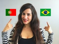 If you are thinking about learning Portuguese then you probably have a reason behind it. Maybe you plan to travel to either Portugal or Brazil, perhaps you have friends or family members you are keen to converse with in their mother t Portuguese Lessons, Portuguese Recipes, Portuguese Food, Macau, Portugal X, Girl Language, Learn Brazilian Portuguese, Portuguese Language, Brazilian Girls