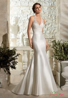 New Design Lace Beading Mermaid Wedding Dress 2017 Backless Halter Cheap  Bridal Gown Sexy Luxury Vestido De Noiva Plus Size-in Wedding Dresses from  Weddings ... 3d114d49a8c4