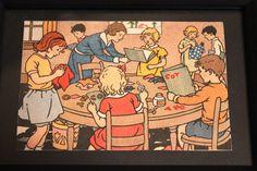 Teacher knows best framed illustration by MotherLark on Etsy, $10.00