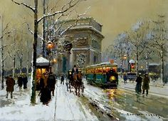 by Edouard Leon Cortes