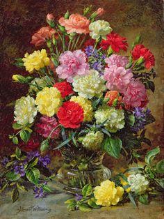 Albert Williams (2) | Цветочные букеты. Обсуждение на LiveInternet - Российский Сервис Онлайн-Дневников