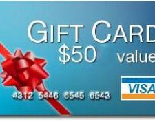 Win $50 Visa Gift Card