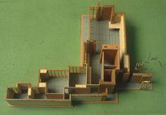 Frank Lloyd Wright, Herbert and Katherine Jacobs House, Madison, USA, 1937 – Atlas of Interiors
