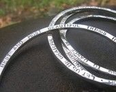 Stamped bracelets & other jewelry