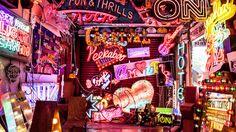 God's Own Junkyard - The Walthamstow workshop where fluorescent tube artist Chris Bracey plies his trade   TimeOut London