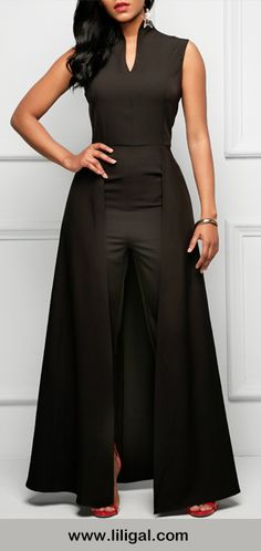 Black Jump Suit Just Beautiful   1 Pamper  Queen  | Self  Help  Pamper  Service