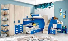 Why Choose a Bunk Bed for Your Youngster? – Bunk Beds for Kids Bunk Beds Small Room, Loft Bunk Beds, Bunk Beds With Storage, Bunk Bed Plans, Bunk Beds With Stairs, Kids Bunk Beds, Small Rooms, Girl Bedroom Walls, Girl Bedroom Designs