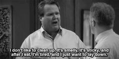 modern family. i can completely relate, cameron. HAhaha. Gotta love him!