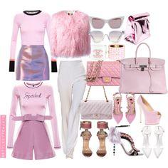 A fashion look from October 2015 by stylebyteajaye featuring Roksanda, Adam Selman, MSGM, Katie Ermilio, Valentino, Giuseppe Zanotti, Zara, Hermès, Chanel, Yes...