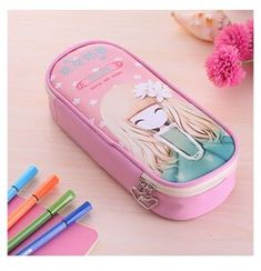 DIY CREATIVE PENCIL CASE IDEAS (SOME ARE PERFECT FOR YOUR KIDS' PROJECT) - DIY Pencil Case (For school) #DIY #Pencil #Case #Kids #School #Ideas School Pencil Case, Diy Pencil Case, School Bags For Girls, Office And School Supplies, School Ideas, Class Projects, Diy Projects, Pencil Cases For Girls, Pencil Bags