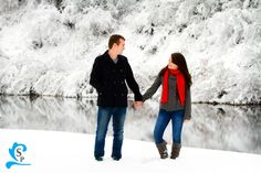 Provo Family Photography - Snow, Winter, Red scarf - Silverstrand Photography