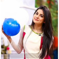 Sanam Baloch enjoying and fun in morning show programme