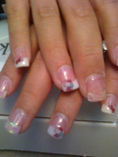 Hello kitty nails Hello Kitty Nails, Cat Nails, Pretty Nails, Beauty, Art, Art Background, Cute Nails, Belle Nails, Kunst