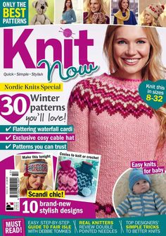 Knit Now Issue 42 2014 - 轻描淡写的日志 - 网易博客: