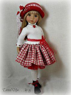 Sweet Valentine - for Effner Little Darlings