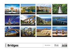 Bridges Wall Calendar 2016 - Architecture Calendar - Poster Calendar - Photography Calendar By Helma