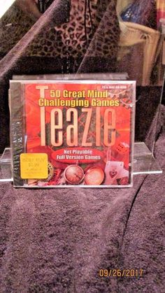 Teazle CD Rom computer Software New Sealed Win 95/98 MAC 1999 #GlobalStar