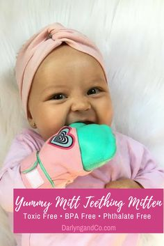 Looking for a teething toy your baby will actually enjoy? Check out our Yummy Mitt Teething Mittens, an ergonomic baby product your baby will love. Don't worry about mold or poisonous chemicals, because our products don't have them. Click through to browse!