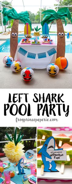 Left Shark Pool Part