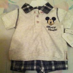 2 piece disney baby boy set This is a 2 piece disney baby set for boys. Other