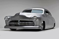"'49 Mercury ""Lead Sled,"" chopped, channeled, and lowered."
