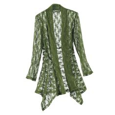 Aventurine Lace Jacket