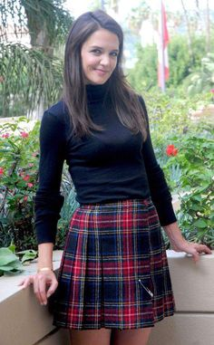 Cute Baby Girl Outfits, Cute Summer Outfits, Roman Clothes, Tartan Fashion, Girls In Mini Skirts, School Girl Outfit, Mode Inspiration, Preppy Style, Skirt Outfits