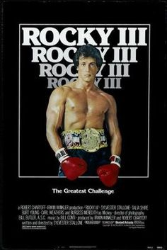 Rocky III (1982) movie #poster, #tshirt, #mousepad, #movieposters2