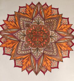 ColorIt Mandalas to Color Volume 1 Colorist: Lynne Rogers Heller Wolff #adultcoloring #coloringforadults #mandalas #mandalastocolor