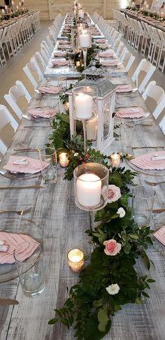 Einfache Selbstgemachte Hochzeit Deko Fur Eine Waldhochzeit