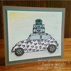 Denita Wright - Independent Stampin' Up! Demonstrator: Beautiful Ride - Global Design Project Theme Challenge #GDP019