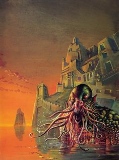 Bruce Pennington - Tales Of The Cthulhu Mythos, Vol. 1, 1974 by Aeron Alfrey, on Flickr