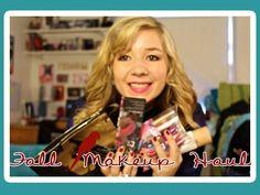 Fall Makeup Haul - YouTube