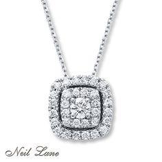 Neil Lane Designs 1/2 ct tw Diamonds 14K White Gold Necklace