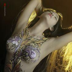 35PHOTO - duong quoc dinh - painting body art and photo by : Dương Quốc Định