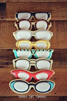 eyeglass cookie - Google Search