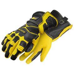 Bob Dale 60-1-4210-L Welding Glove Gander X-Treme Performance Goatskin Ladies, Size L (Pack of 60), Black