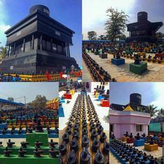 Crowdsourced temple with 90 lakh Shiv lingas and the largest linga in the world 108 feet!  #shiv #shiva #temple #templecity #linga #lingam #karnataka #kolar #travel #nomad #instagood #layout #travelling #traveling #traveler #like #globetrotters #globe_travel