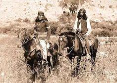 Apache scouts.