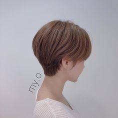 Short Hair Korea, Hair Style Korea, Korean Short Hair, Short Hair Cuts For Women, Girl Short Hair, Short Hairstyles For Women, Shot Hair Styles, Curly Hair Styles, Short Bob Styles