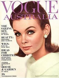Jean Shrimpton - Vogue Australia Nov/Dec 1963