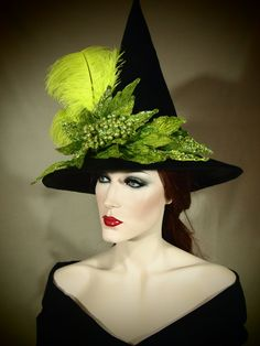 Couture Witch Hat Skeeter Scandal 21 One of by EvercrumblyAndWitch